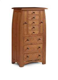 Aspen Jewelry Armoire with Inlay Product Image