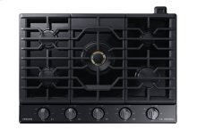 "30"" Gas Chef Collection Cooktop with 22K BTU Dual Power Burner, NA30N9755TM/AA (Black Stainless)"