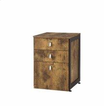 Estrella Industrial Antique Nutmeg File Cabinet