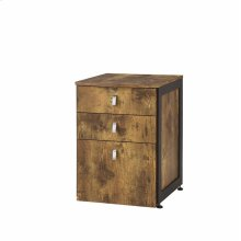 Estrella Industrial Antique Nutmeg File Cabinet