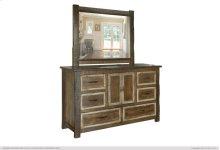 6 Drawer, 2 Door Dresser