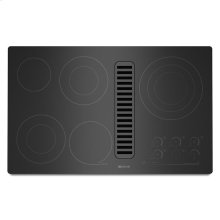 """Jenn-Air® Electric Radiant Downdraft Cooktop with Electronic Touch Control, 36"""" - Black"""