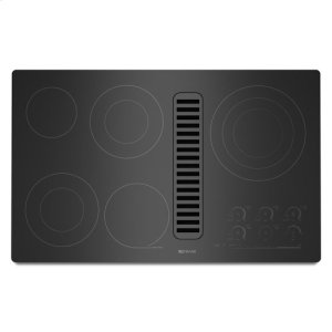"""Jenn-AirJenn-Air® Electric Radiant Downdraft Cooktop with Electronic Touch Control, 36"""" - Black"""