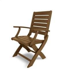 Teak Signature Folding Chair