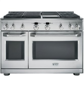 "48"" Pro Range - Dual Fuel with Grill and Griddle"