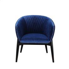 Kismet Tub Chair Blue Velvet
