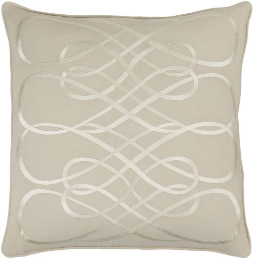 "Leah LAH-004 18"" x 18"" Pillow Shell Only"