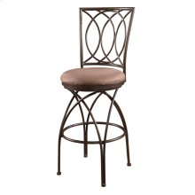 Big and Tall Metal Crossed Legs Bar Stool