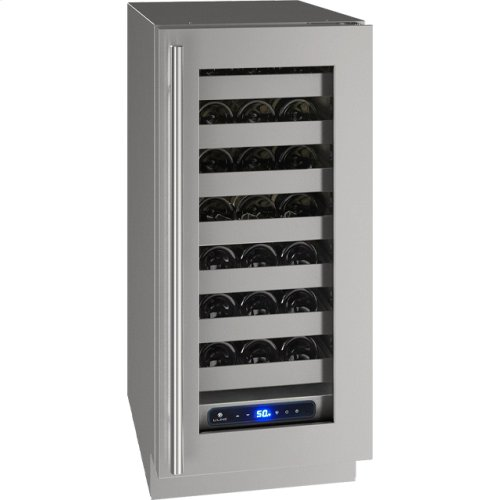 """5 Class 15"""" Wine Captain® Model With Stainless Frame Finish and Field Reversible Door Swing (115 Volts / 60 Hz)"""