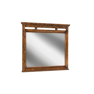 Bedroom - Wolf Creek Landscape Mirror