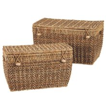 Nested Trunks with Lids set/2