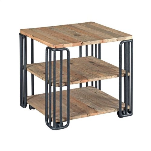 Plank End Table