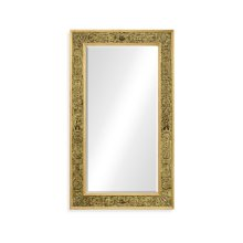 Rectangular Mirror with Gilt Renaissance Decoration
