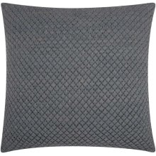 """Couture Nat Hide Pd280 Grey 20"""" X 20"""" Throw Pillows"""