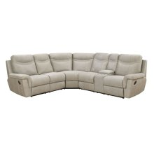 Manual Stone 3PC Sectional Sofa Set