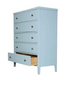 5 Drawer Chest-pastel Blue