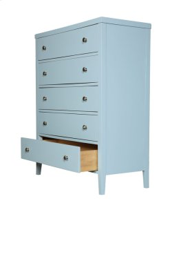 5 Drawer Chest-pastel Blue Product Image