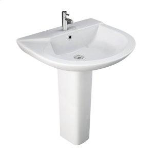 Anabel 630 Pedestal Lavatory - White Product Image