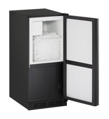 "1000 Series 15"" Crescent Ice Maker With Integrated Solid Finish and Field Reversible Door Swing"