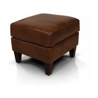 Leather Louis Ottoman 2917AL Product Image