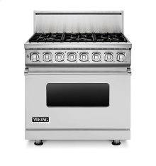 """36"""" Dual Fuel Range, Natural Gas ***FLOOR MODEL CLOSEOUT PRICING***"""