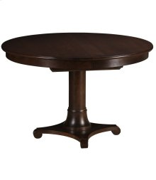 """Meyer 48"""" Round Pedestal Table with Butterfly Leaf"""