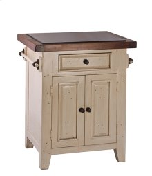 Tuscan Retreat® Small Kitchen Island - Country White