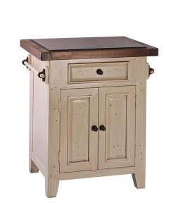 Tuscan Retreat® Small Kitchen Island - Country White Product Image