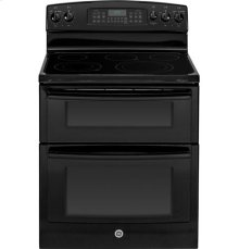 """GE® 30"""" Free-Standing Electric Double Oven Range"""