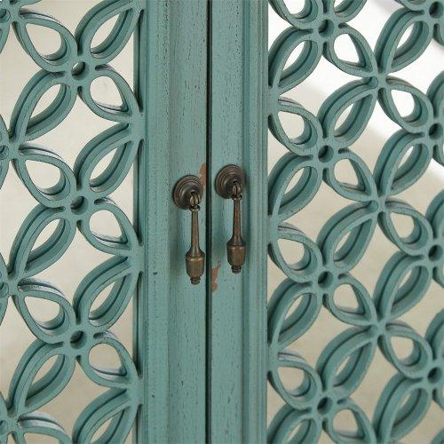3 Door Accent Cabinet