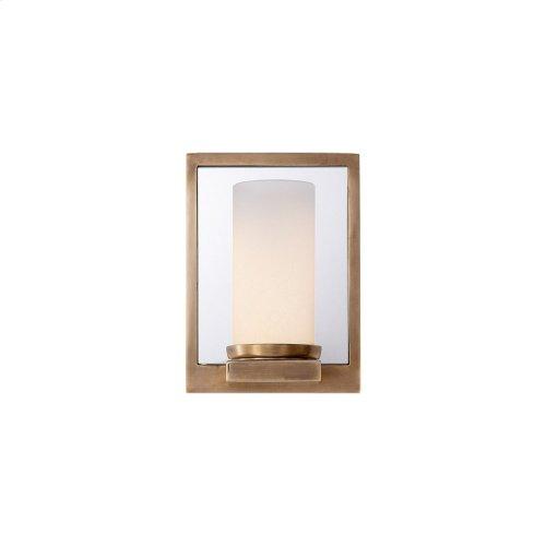 Visual Comfort S2152HAB-FG Studio Mesa 1 Light 5 inch Hand-Rubbed Antique Brass Decorative Wall Light