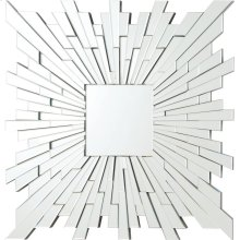 Transitional Square Frameless Mirror