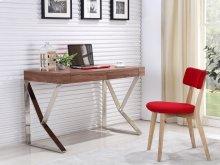 The York Walnut Veneer Office Desk