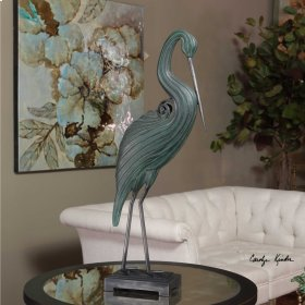 Keanu, Heron Sculpture