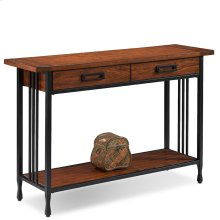 Two Drawer Sofa Table - Ironcraft Collection #11233