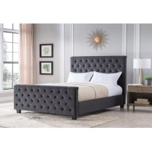 Michelle Charcoal - King Size Bed