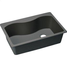 """Elkay Quartz Classic 33"""" x 22"""" x 9-1/2"""", Single Bowl Drop-in Sink"""