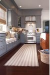 Hampton Shingle Stripe Flat Woven Rugs