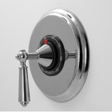 """1/2"""" Thermostatic Shower Set with Aria Handle (available as trim only P/N: 1.000196.V0T)"""