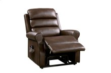 POWER Lift Chair with Massage & Heat, Brown PU
