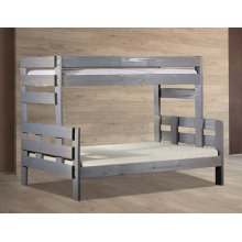Twin/Full Stackable Bunk Bed