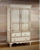 Wilshire Armoire Antique White Product Image