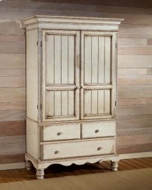 Wilshire Armoire Antique White