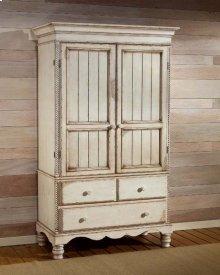 Wilshire Armoire Antique White
