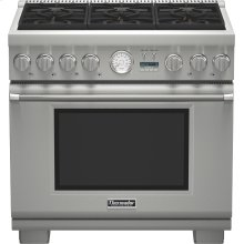 "36"" Professional Series Pro Grand® Commercial Depth Dual Fuel Range"