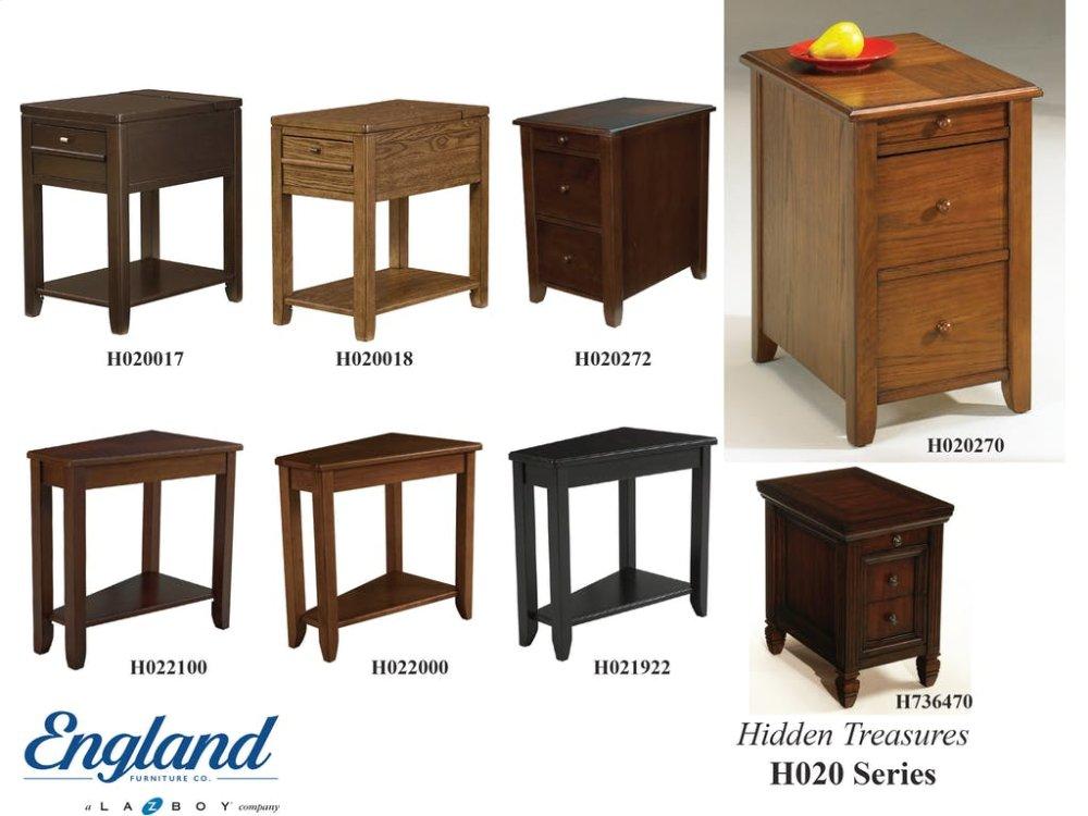 Genial Hidden Treasures Tables H020