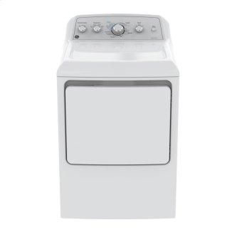 GE 7.2 Cu.Ft.Top Load Gas Dryer White GTD45GBMKWS