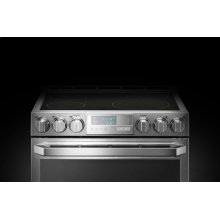 LG SIGNATURE 7.3 cu.ft. Smart wi-fi Enabled Electric Double Oven Slide-In Range with ProBake Convection®