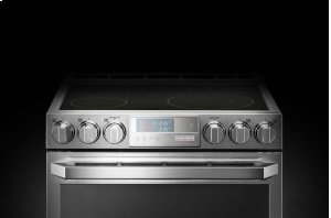 LG SIGNATURE 7.3 cu.ft. Smart wi-fi Enabled Electric Double Oven Slide-In Range with ProBake Convection® Product Image