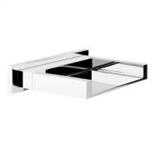 Deck mounted bath spout, 1/2 connections - Spout projection 6-1/8